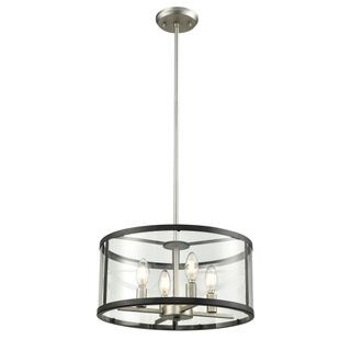 Luminaire Suspendu Downtown - Nickel + Graphite