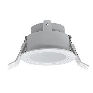 "Encastré LED RIGID 3"" Dia. Blanc, Ajustable"